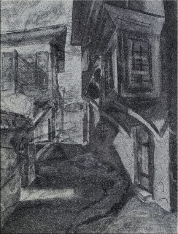 7. Картина въглен