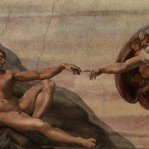 Фреска с размери 196x58см.